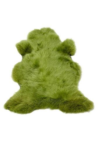 Pols Potten Schapenvacht groen