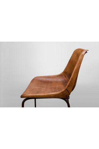 Barstool vintage brown