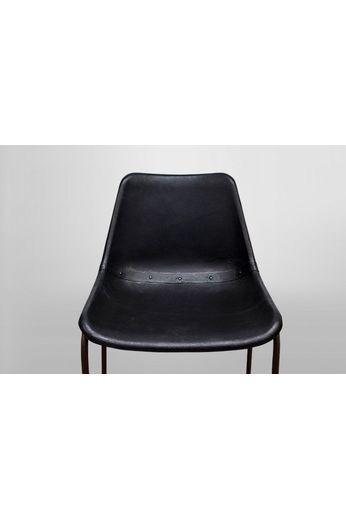 Barkruk vintage zwart