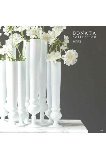 O4Home Vase blanc