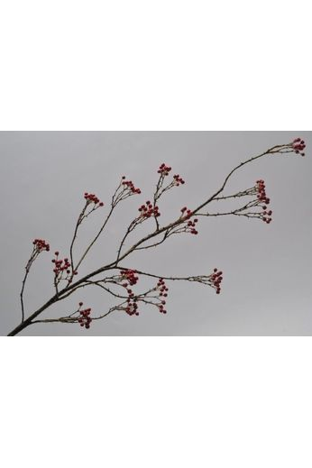 Silk-ka Berry branch red 120 cm