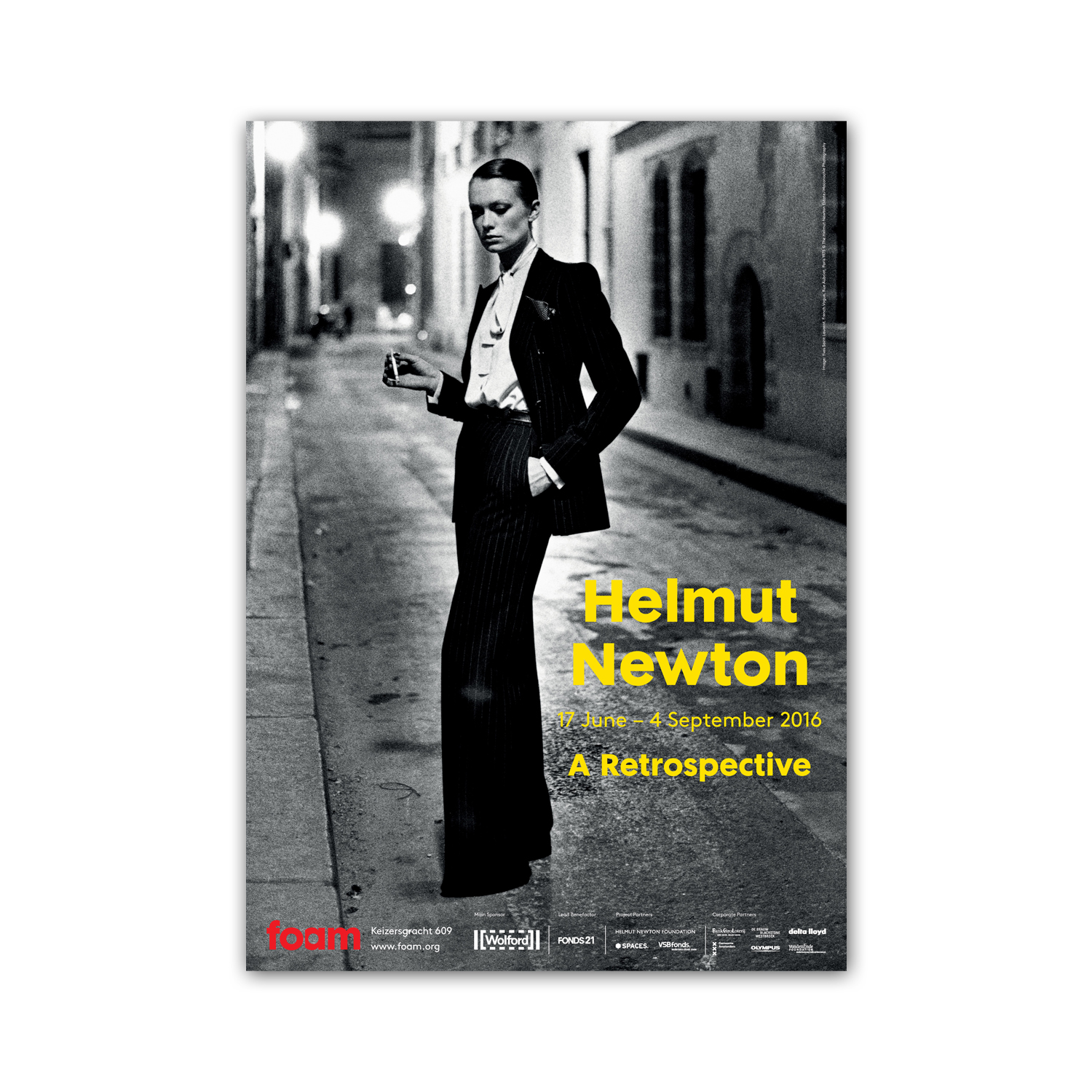 A Retrospective (2016) by Helmut Newton