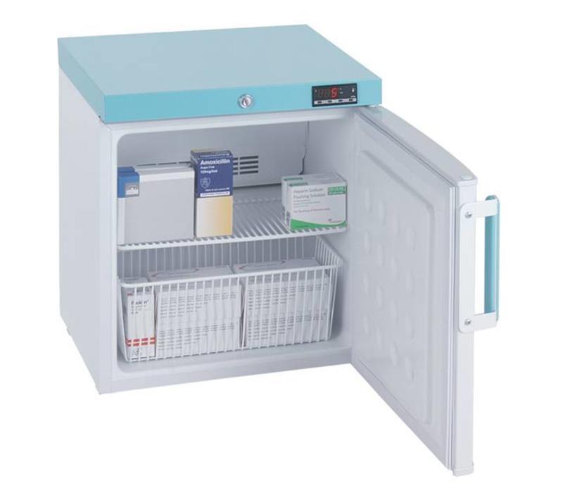 PE109 Compact Lockable Pharmacy Fridge