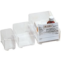 Storage Box 204 transparent, stackable