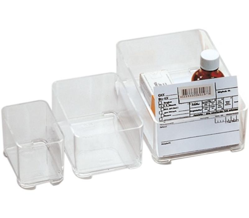 Stapelbare Medicijnbak 157 x 105 x 47 mm ( Type 204 )