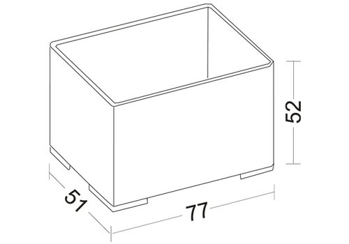 Storage Box 202 transparent