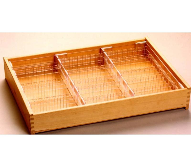 Drawer insert for standard drawer 55mm high