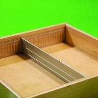 Aluminium lengte verdeler 55mm (op maat gezaagd )