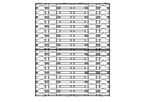 HHsystem Draagwand ISO 600
