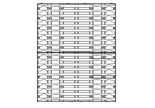 HHsystem Draagwand voor ISO 600