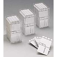 800 x Mini Card 50x25mm with frame in box