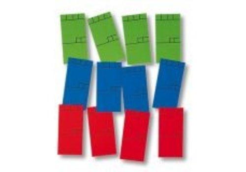 270 x Minikaart (Blauw)