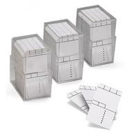 800 x Minikaart 50x25mm met kader in box