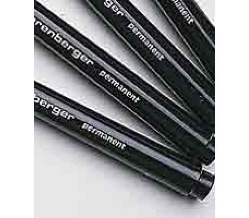 Fijnschrijver, zwart (5 stk.)