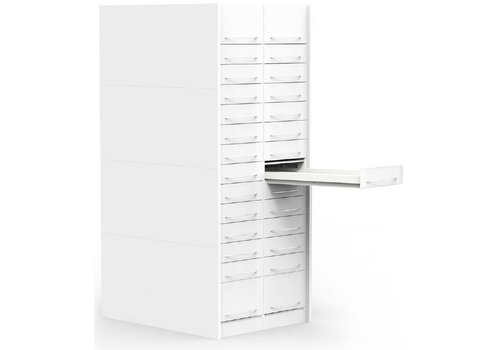 H-Box pharmacy drawer column