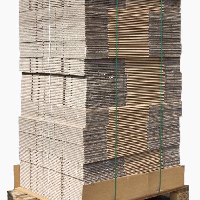 Pallet professionele autolock verhuisdozen 300 stuks