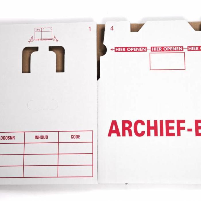 Archiefdozen pakket 10 stuks