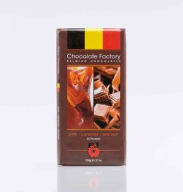 Milk Caramel & Sea Salt Chocolate Bar