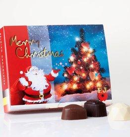 Christmas Box of Mixed Chocolates (125gr)