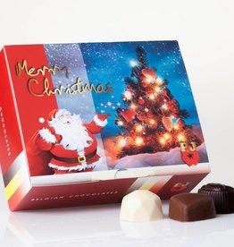 Christmas Box of Mixed Chocolates (250gr)
