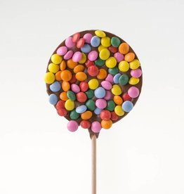 Chocolate Lolly with Smarties