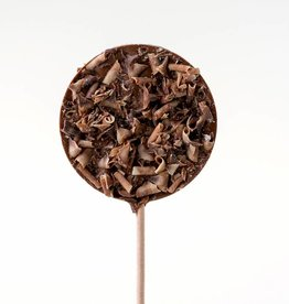 Chocolate Lolly with Chocolate Shavings