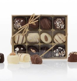 Box of Marzipan Chocolates (12 pieces)