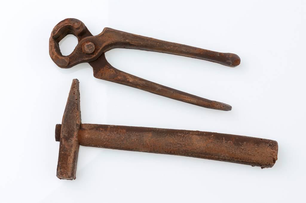 Hammer & Wire Cutter - P&J Belgian Chocolates