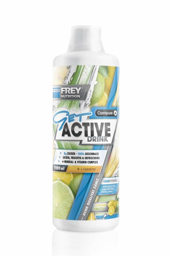 Mineralgetränk GET ACTIVE DRINK - 1.000 ml - Nutrition Planet & Sports