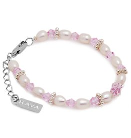 KAYA jewellery Girls Bracelet 'Infinity Pink'