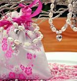 KAYA jewellery Girls Bracelet 'Infinity Pink' with Butterfly Charm