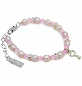 KAYA jewellery Girls Bracelet 'Princess' with Key Charm
