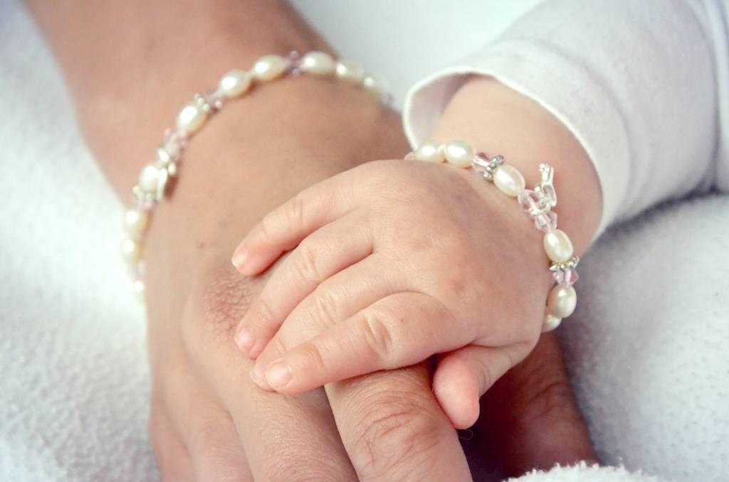 KAYA jewellery Silver Girls Bracelet 'Little Diva' with Initial Charm