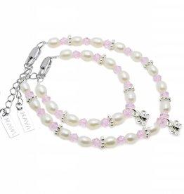 KAYA jewellery Mum & Me Bracelet 'Infinity Pink' Butterfly