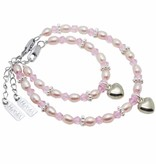 Princess Beautiful Mum & Me Bracelet 'Princess' with Heart Charm
