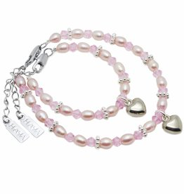 KAYA jewellery Mum & Me Bracelet 'Princess' with Heart