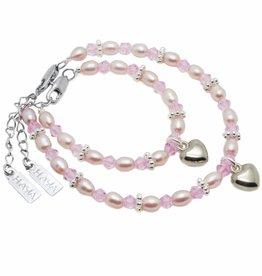 Princess Mum & Me Bracelet 'Princess' with Heart