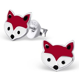 silver jewellery Silver Fox Colorful Ear Studs