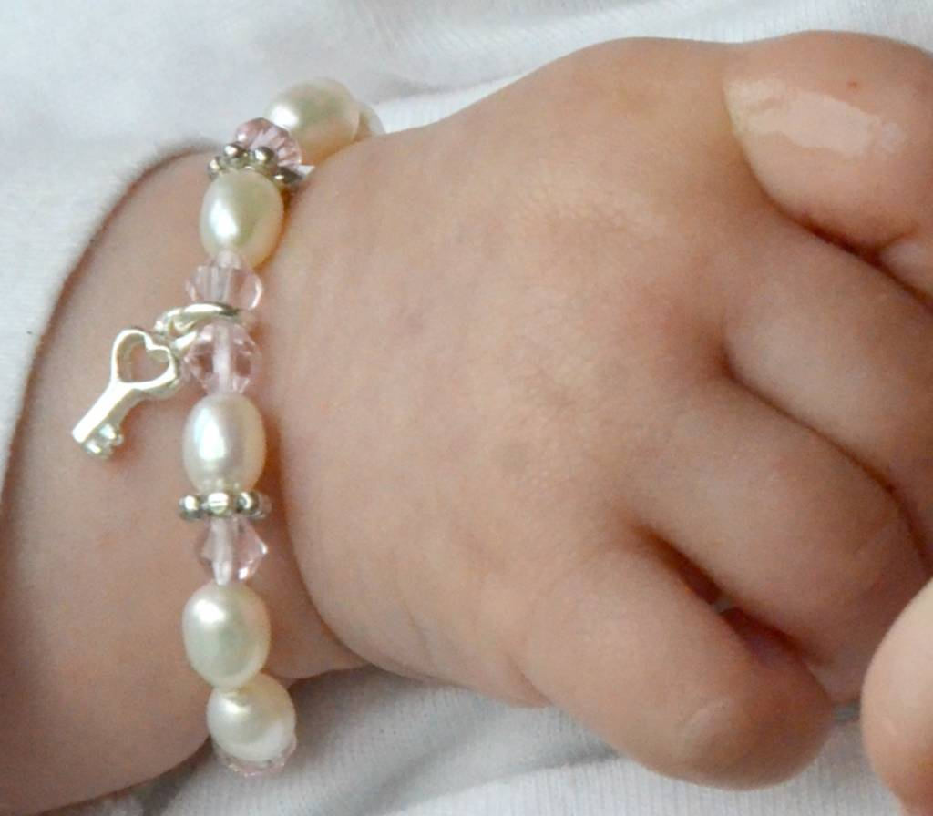Little Diva (silver) Silver Key to my Heart Mum & Me Bracelet 'Little Diva'