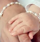 KAYA jewellery Silver Mum & Me Bracelet 'Little Diva' Hearts