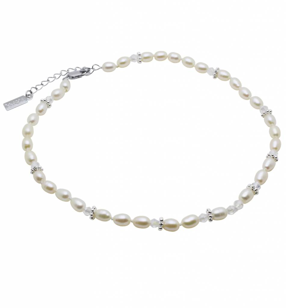 Infinity Pure & Beautiful Pearl Necklace 'Infinity White'