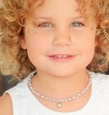 KAYA jewellery Girls Jewellery Set with earrings 'Princess' with Heart