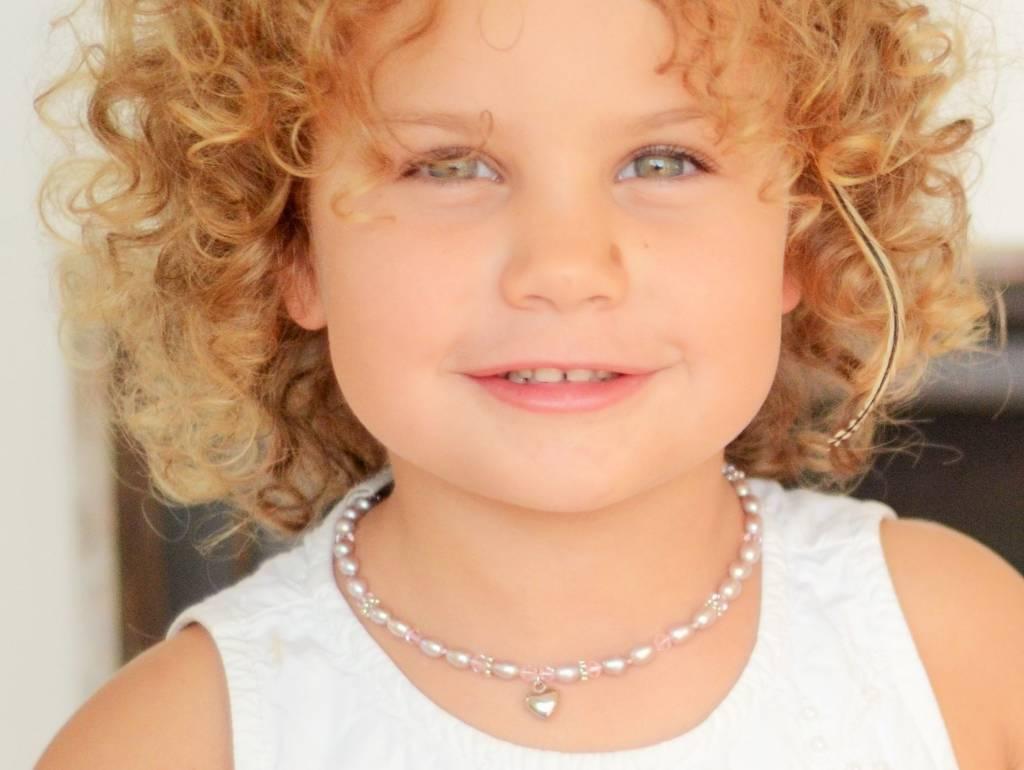 Princess Girls Jewellery Set with earrings 'Princess' with Heart