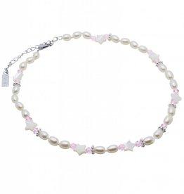KAYA jewellery Pearl Necklace 'Star Pink'