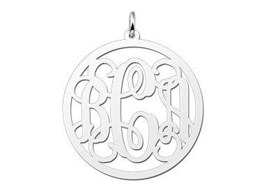 Children's Initials jewellery (silver)