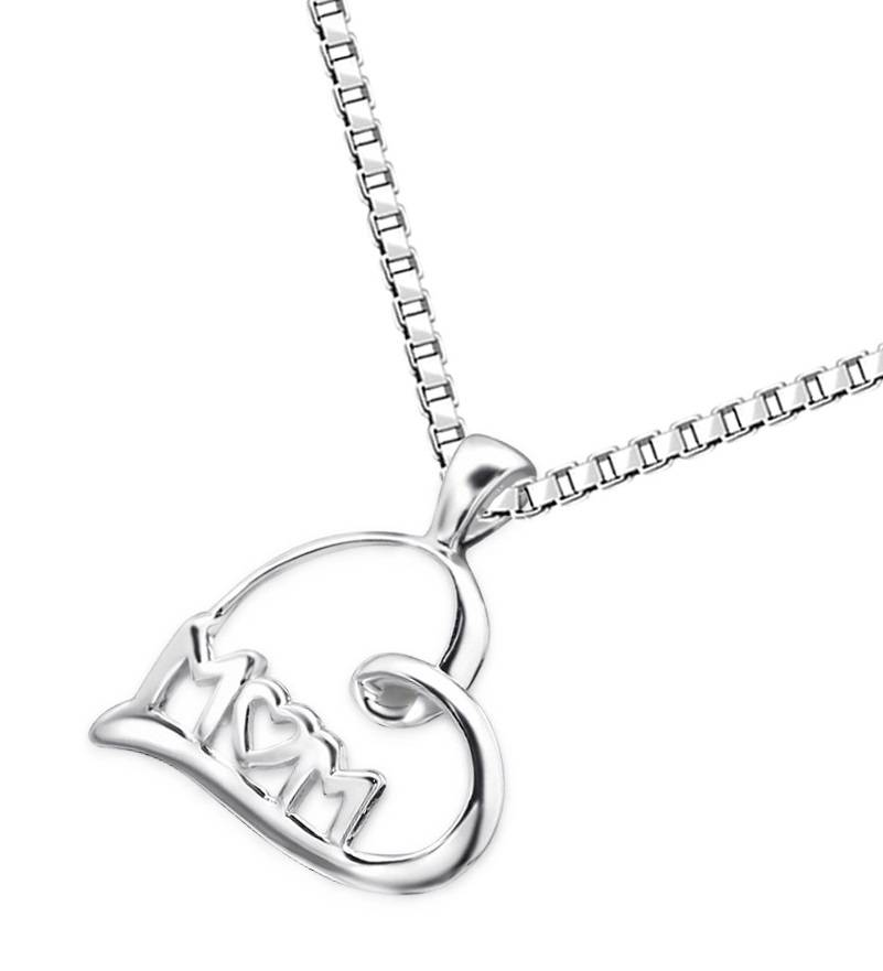 silver jewellery Silver Necklace 'M♡M'