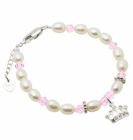 Little Diva (silver) Silver Girls Bracelet 'Little Diva' Princess