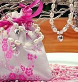 KAYA jewellery Silver Crystal Owl Ear Studs