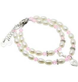 Little Diva (silver) Silver Mum & Me Bracelets 'Little Diva' Key to my Heart