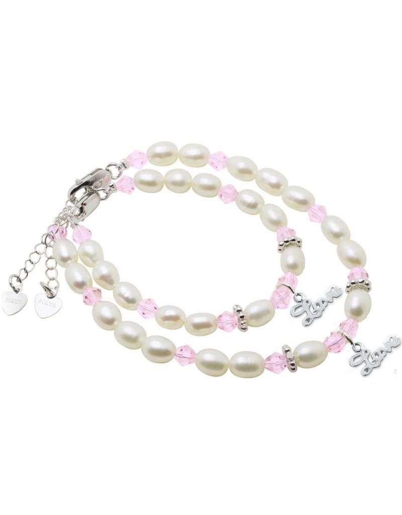 Little Diva (silver) Silver Mum & Me Bracelets 'Little Diva' Love
